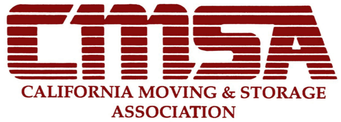 We are a member the Californian Moving and Storage Association.