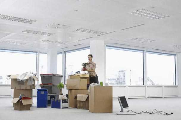 An employee's belongings that need shipped to their new location cross-country.