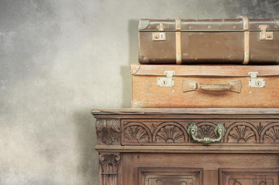 An antique dresser shipping cross country.